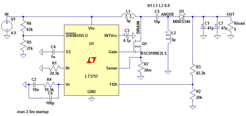 sepic converter design