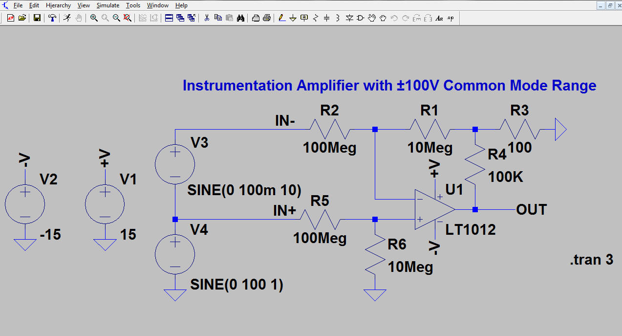 Ltspice Tutorial Part 1 Opamp Inverting Amplifier Summer Non