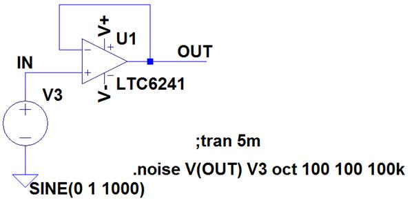 Op Amp Noise and LTSpice